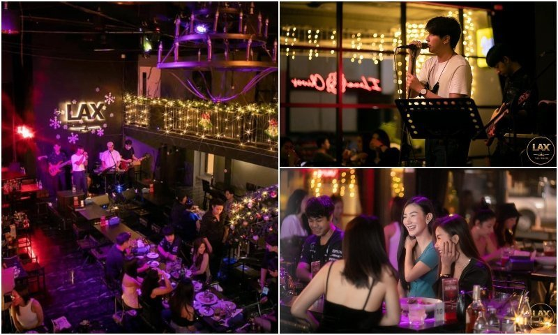 LAX live music bar in RCA