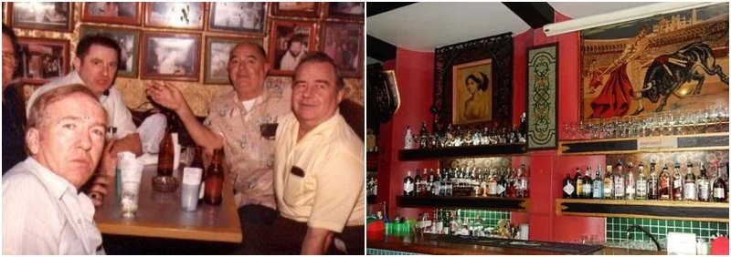 A bar with expats in Patpong in the 1960s