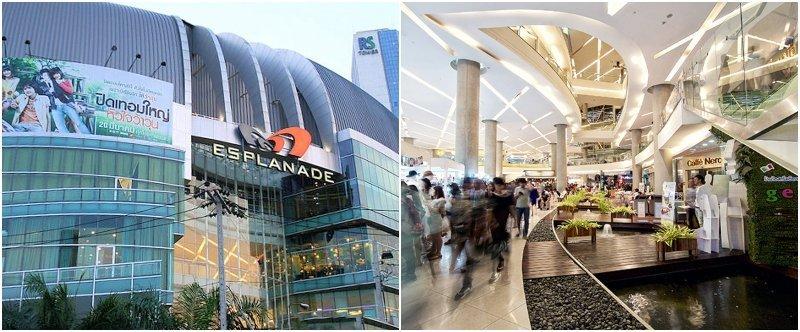 The Esplanade Ratchada shopping mall in Bangkok