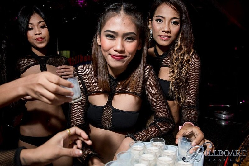 beautiful hostess at Billboard gogo bar in Bangkok