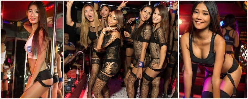 Hot gogo dancers from Thailand