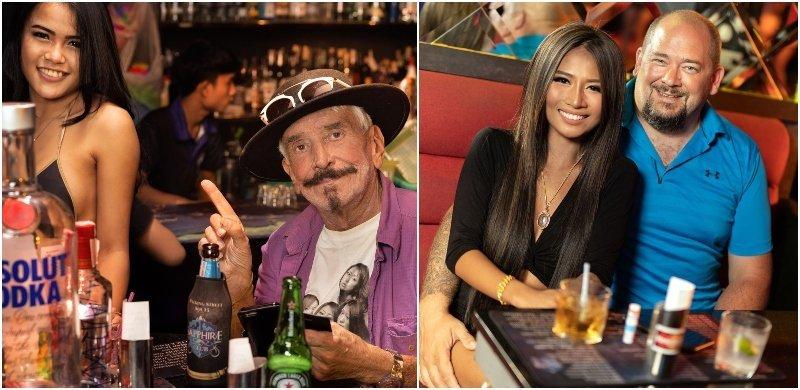 Guys paying ladies drinks to bars girls in Bangkok