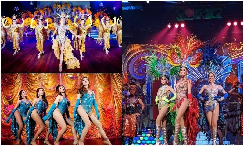 beautiful ladyboys at pageants and cabarets in Thailand