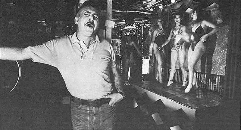 A gogo bar in Patpong in the 1960s