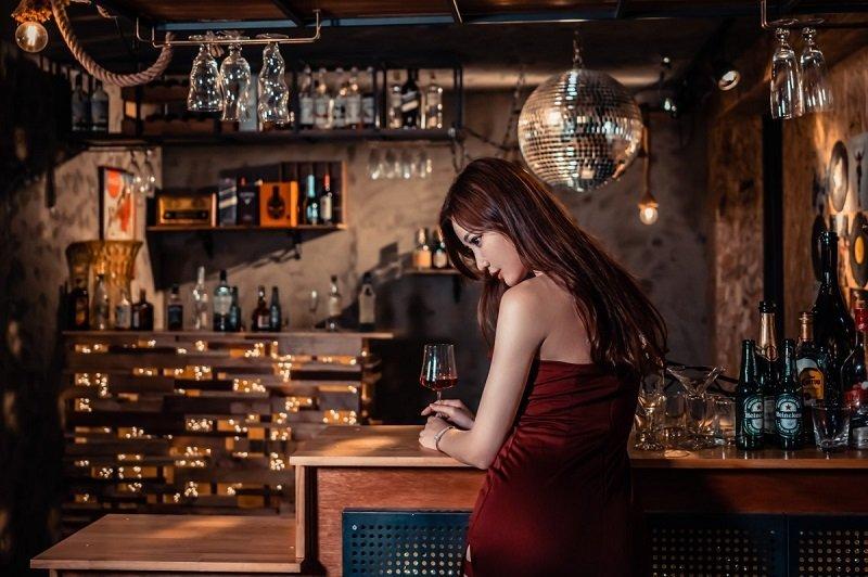 Hostess Girls at KTV bar