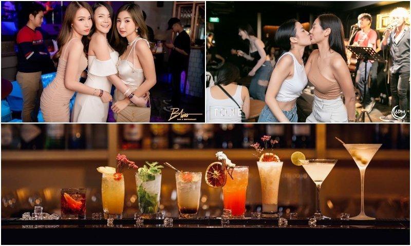 Ekkamai cocktail bars
