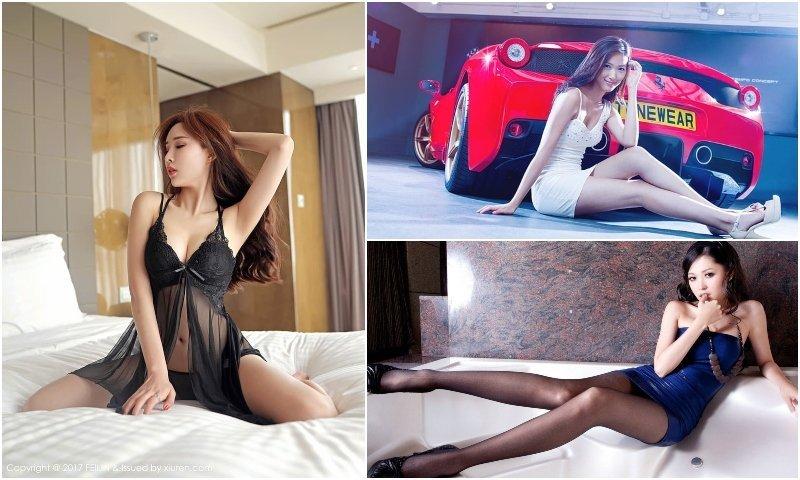 Thai VIP models posing