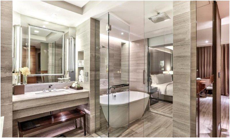 Bathroom Hilton Sukhumvit Bangkok