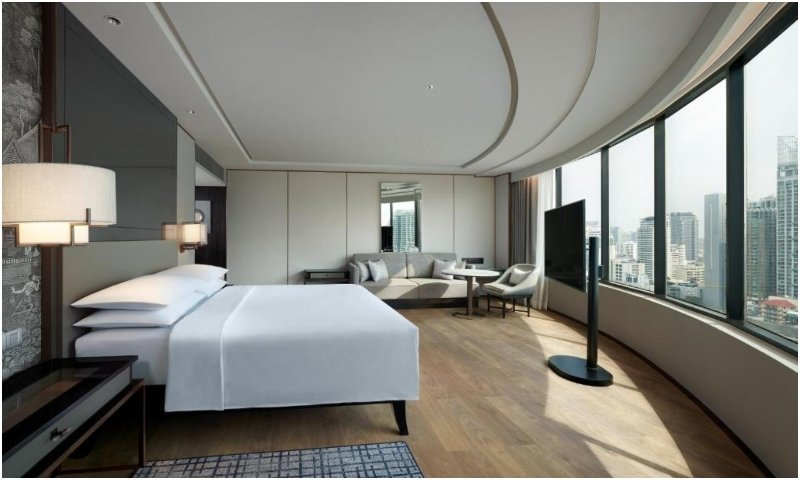 Corner King Suite JW Marriott Hotel Bangkok