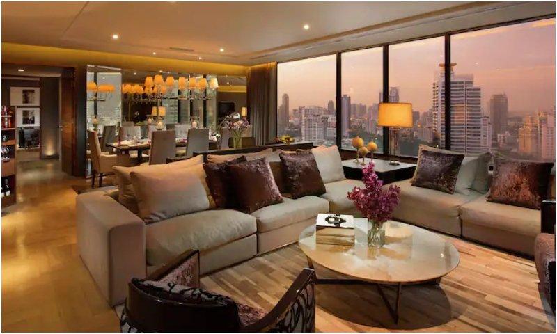 King Presidential suite Hilton Sukhumvit Bangkok