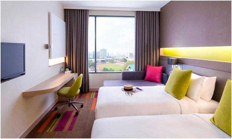 Mercure Bangkok Siam twin beds