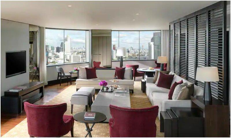 Millennium Hilton Bangkok royal suite