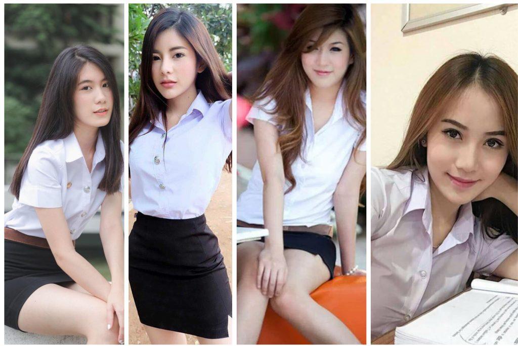 group of sideline girl from university
