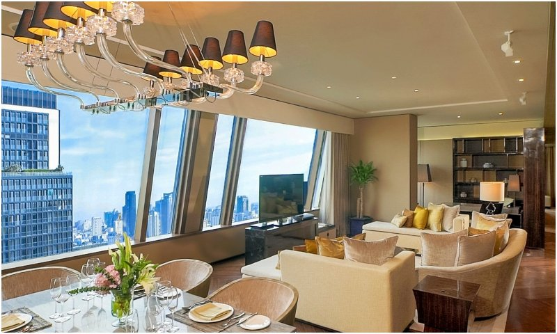 Presidential suite Okura Prestige Bangkok