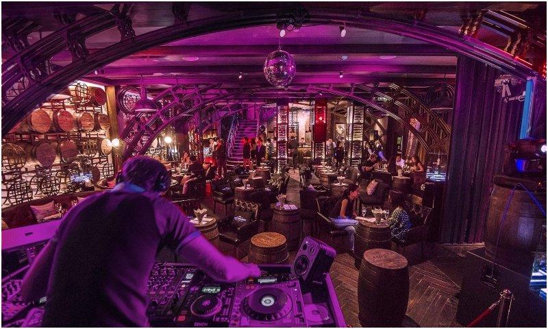 Private party rooms at Hotel Muse Bangkok
