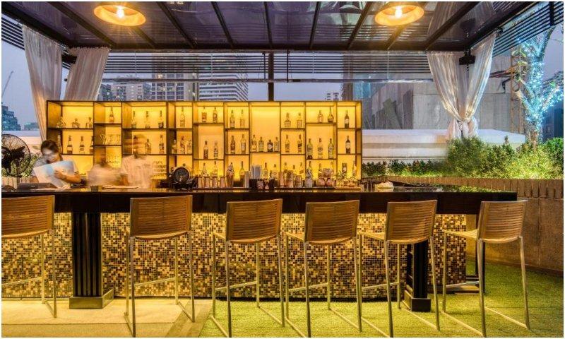 Rainforest Rooftop Bar