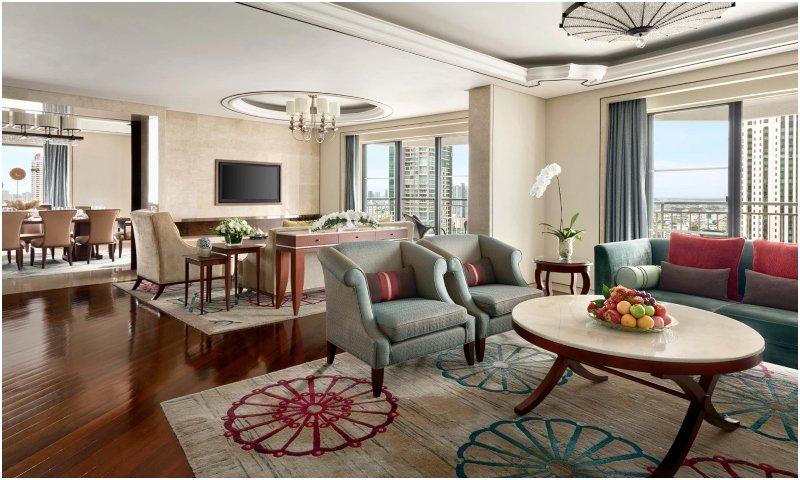 Shangri-La Wing Presidential Suite