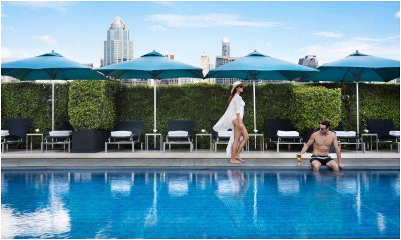 Sofitel Bangkok Sukhumvit pool