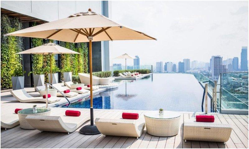 Swimming pool Avani+ Riverside Bangkok Hotel
