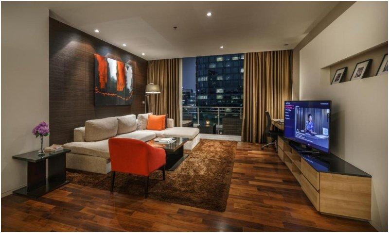Three bedroom serviced suite