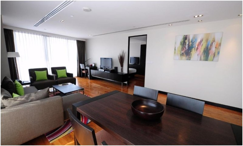 Three-bedroom apartments