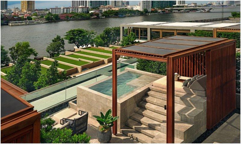 Verandah Suite King Capella Bangkok
