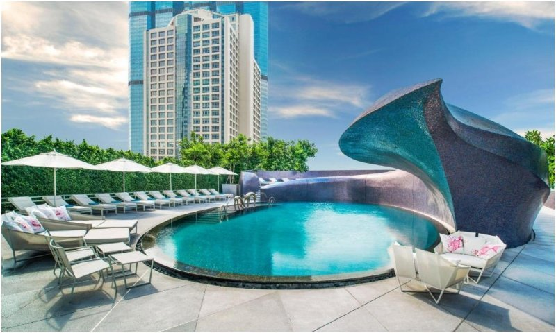 W Bangkok Hotel pool