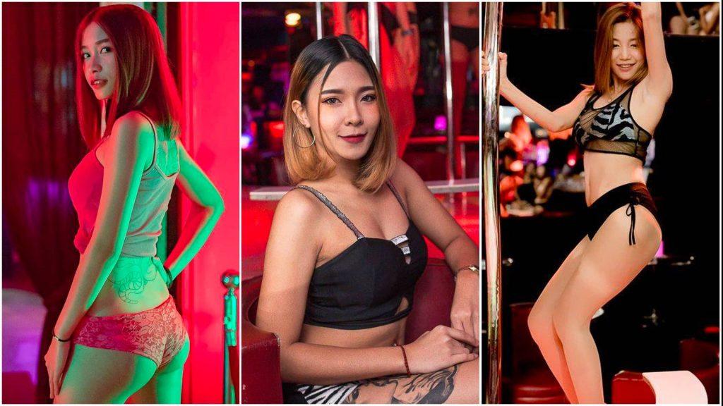 beautiful Thai gogo girls at Bada Bing goog bar in Patpong Bangkok
