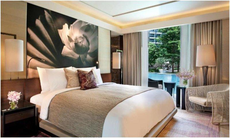 Cabana room at Siam Kempinski Hotel Bangkok