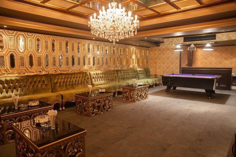 large private room at Dubai Luxury Club in Bangkok