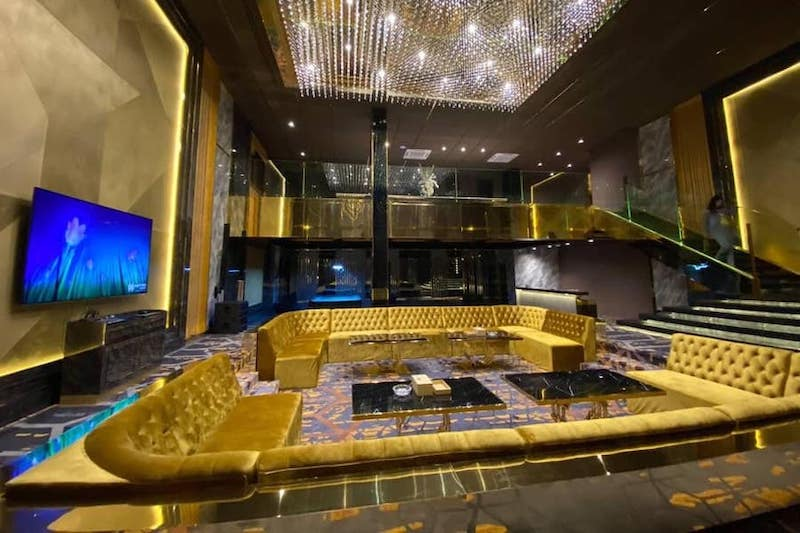 large VIP private room at Emerald Club Thonglor