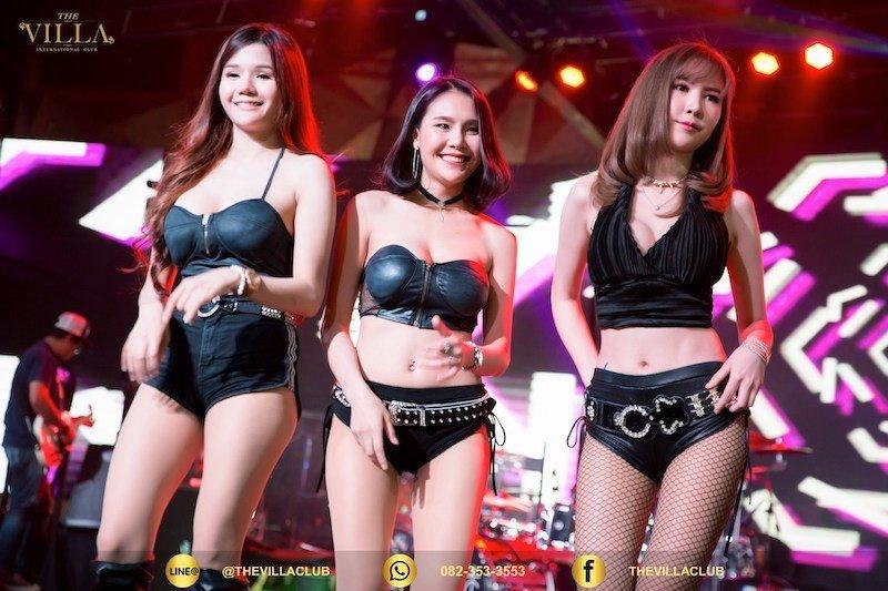 sensual Thai girls at the Villa Club