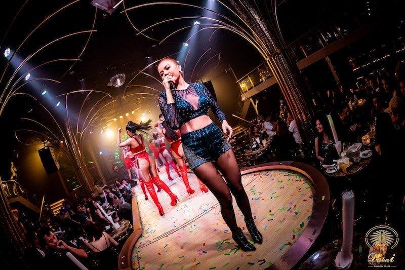 sexy Thai singer at Dubai Luxury Club in Bangkok