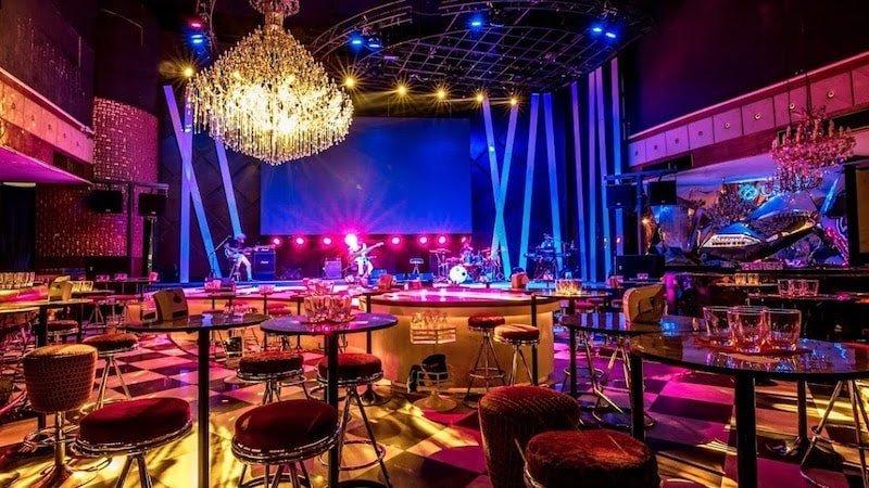 interior of Sherbet exclusive club in Ekamai