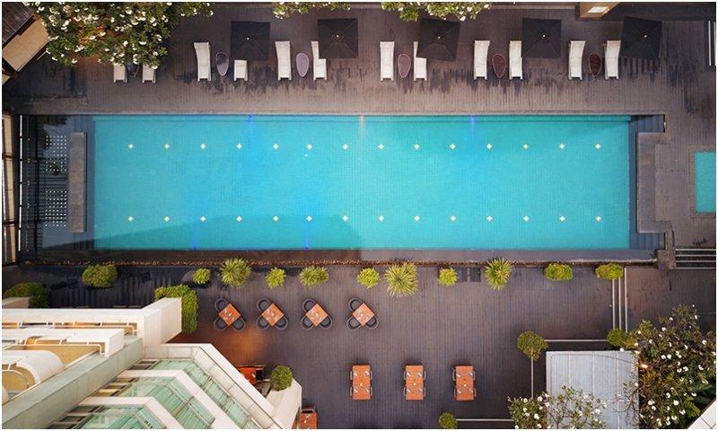 swimming pool JC Kevin Sathorn Bangkok Hotel
